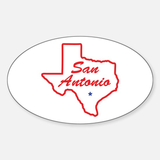 Texas - San Antonio Decal