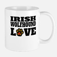Irish Wolfhound Love Mugs