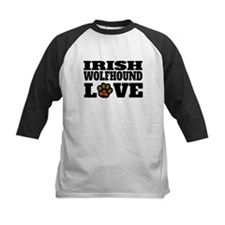 Irish Wolfhound Love Baseball Jersey