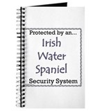 Irish water spaniel journal Journals & Spiral Notebooks