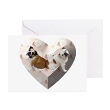 1BookendsB Greeting Cards