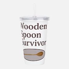 Wooden Spoon Survivor Acrylic Double-wall Tumbler