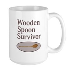 Wooden Spoon Survivor Mugs