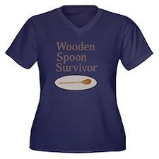 Wooden Spoon Survivor Plus Size T-Shirt