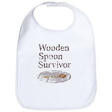 Vintage Wooden Spoon Survivor Bib