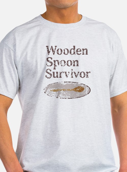 Vintage Wooden Spoon Survivor T-Shirt