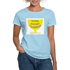 Tonsil Hockey Champion Trophy Women's Pink T-Shirt
