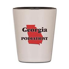 Georgia Podiatrist Shot Glass