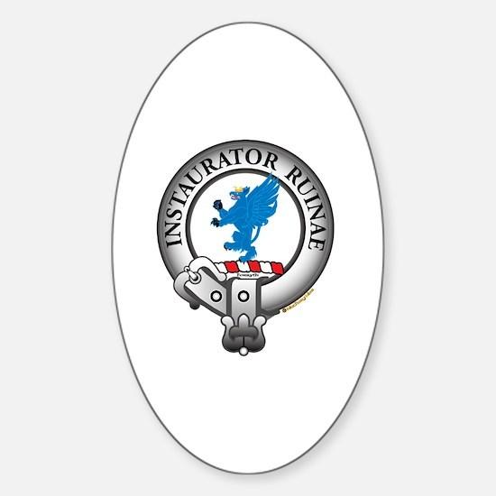 Forsyth Clan Sticker (Oval)