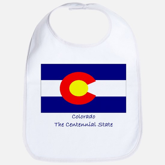 Colorado State Flag Bib