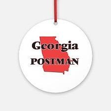 Georgia Postman Round Ornament