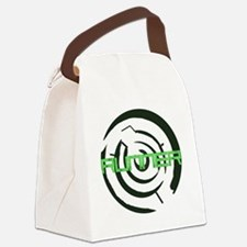 Runner in the Maze Canvas Lunch Bag