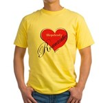 Romantic Yellow T-Shirt