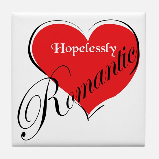 Romantic Tile Coaster