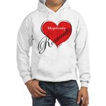 Romantic Hooded Sweatshirt