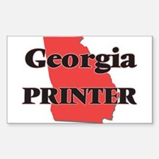 Georgia Printer Decal