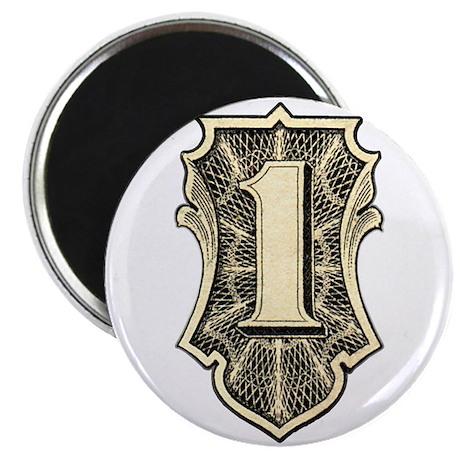 """THE ONE"" $1 dollar logo Magnet"
