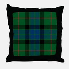 Gunn Clan Throw Pillow