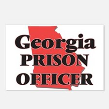 Georgia Prison Officer Postcards (Package of 8)