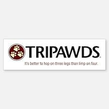 Tripawds Bumper Bumper Bumper Sticker