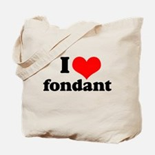 I Heart Fondant Tote Bag