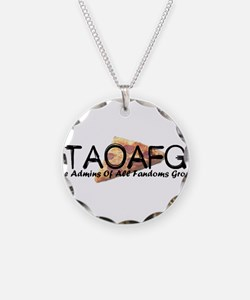 TAOAFG Pizza Necklace