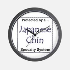 Chin Security Wall Clock