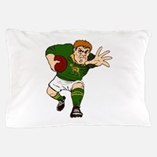 Springboks Rugby Player Pillow Case