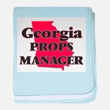 Georgia Props Manager baby blanket