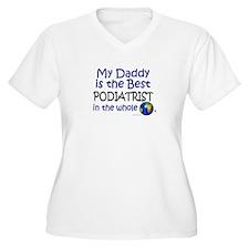 Best Podiatrist In The World (Daddy) T-Shirt