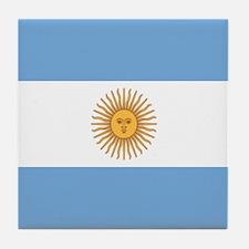 Argentinian pride argentina flag Tile Coaster