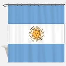 Argentinian pride argentina flag Shower Curtain