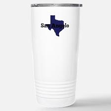 Texas - San Angelo Stainless Steel Travel Mug