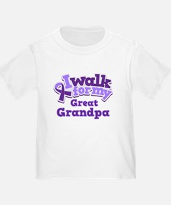 Unique Alzheimers disease awareness T