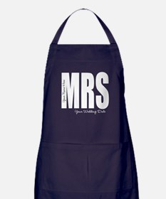 Wedding Mrs Apron (dark)