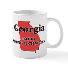 Georgia Radio Sound Technician Mugs