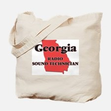 Georgia Radio Sound Technician Tote Bag