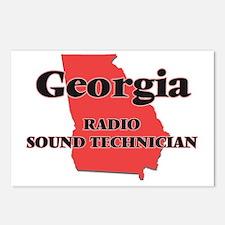 Georgia Radio Sound Techn Postcards (Package of 8)