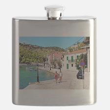 Village of Assos Flask