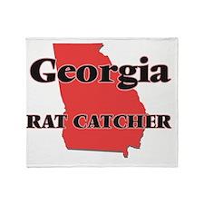 Georgia Rat Catcher Throw Blanket