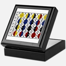 Enochian Tablet of Union Engl Keepsake Box
