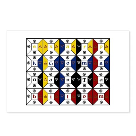 Enochian Tablet of Union Engl Postcards (Package o