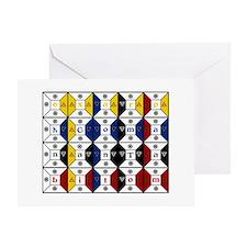 Enochian Tablet of Union Engl Greeting Card