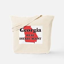 Georgia Real Estate Agent Tote Bag