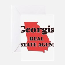Georgia Real Estate Agent Greeting Cards