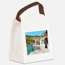 Village of Assos Canvas Lunch Bag