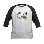 Contest All Passes Kids Baseball Jersey