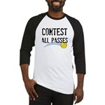 Contest All Passes Baseball Jersey
