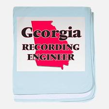 Georgia Recording Engineer baby blanket