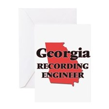 Georgia Recording Engineer Greeting Cards